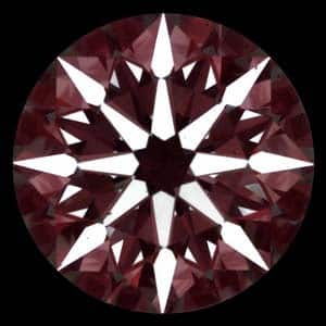 Effect of static contrast on the appearance of diamonds, High Performance Diamond Reviews, AGSL 104070337009