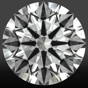 How does lower girdle facet length affect diamond sparkle, High Performance Diamonds review, AGSL 104069160011