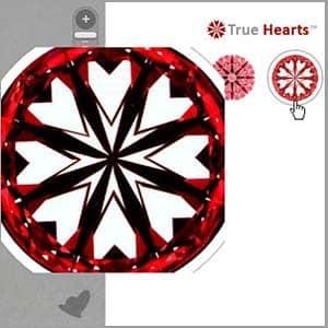 James Allen True Hearts diamond reviews, AGSL 104054433022