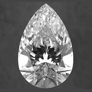 what are the best proportions for pear shape diamond for 3
