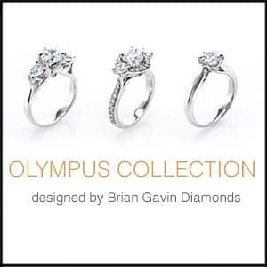 Brian Gavin Diamonds Olympus Collection e-ring reviews