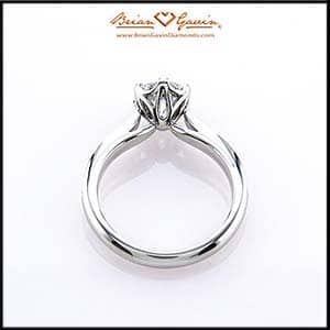 Freya solitaire engagement ring reviews, Brian Gavin Olympus collection