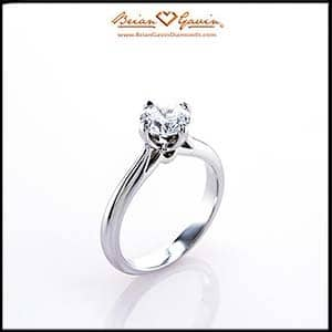 Juno solitaire ring review Brian Gavin Olympus Collection