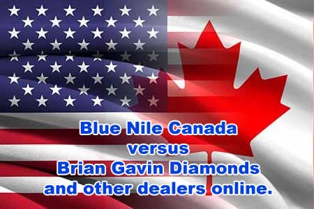 Blue Nile Canada Vs Ing From Brian Gavin And Other Online Dealers Does It Save On Ta