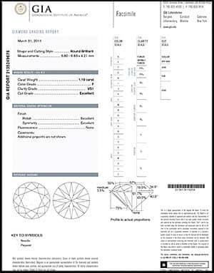 Blue Nile round diamond reviews, GIA 2135249676