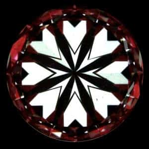 Crafted by Infinity High Performance Diamonds review, AGSL 104071881010 hearts pattern