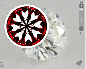 James Allen True Hearts diamond reviews, AGSL 104059904027
