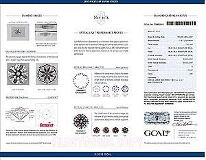Blue Nile Signature round diamond reviews, GCAL230650011