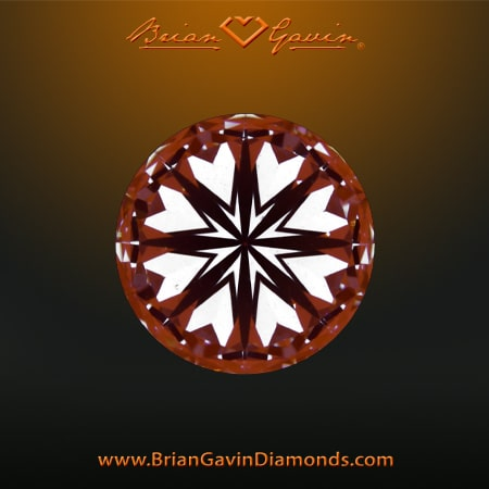 Rare find, Brian Gavin Signature 1-458 carat, hearts and arrows diamond review, AGSL 104077663014