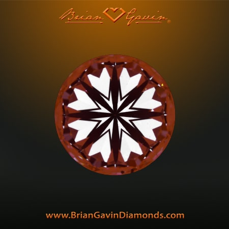 Brian Gavin Signature hearts arrows diamonds reviews, AGSL 104078265036, what true hearts patterns look like