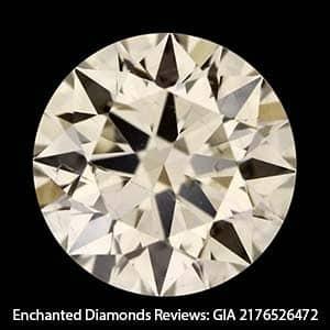 GIA Excellent Cut Diamond Poor Contrast Brilliance