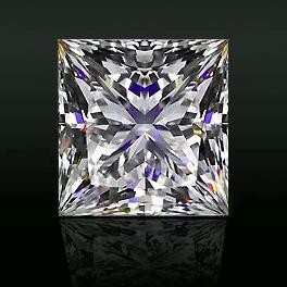 Brian Gavin Signature Princess cut diamond reviews, AGS 104073089002
