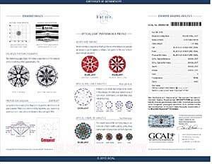 Blue Nile Canada diamond reviews, LD02374304, GIA 6147117159, GCAL 250860106