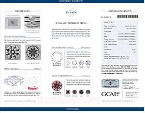 Blue Nile Canada Diamond Reviews, LD02372845, GIA 2141117906, GCAL 222980118