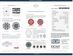 Blue Nile Canadian diamond reviews, LD02432160, GIA 2145360829, GCAL 250860107