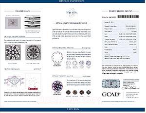 Blue Nile Signature Canada diamond reviews LD02411361, GIA 2127828819, GCAL 242120072