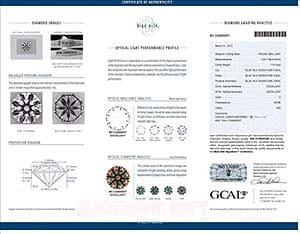 Blue Nile Signature diamond reviews, LD02473033, GIA 2126843320, GCAL 220600007