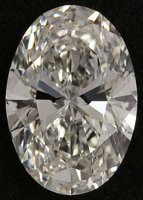 Oval-shape diamond