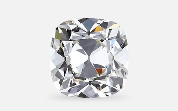 Victor Canera Antique Cushion cut diamond