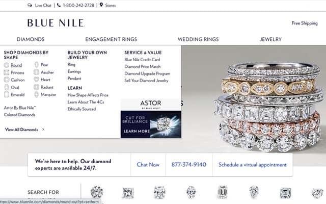Blue Nile Diamond Engagement Ring Reviews