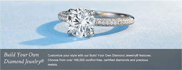 Using Blue Nile Diamond Search Vs Build Your Own Ring