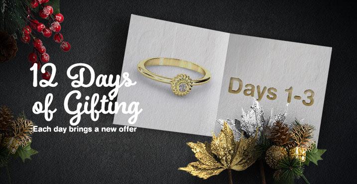 12 Days of Gifting Brian Gavin Diamonds coupons, discounts, sales, 2016 holiday season