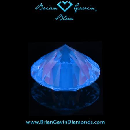 Brian Gavin Blue Fluorescent Diamonds.