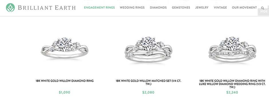 Brilliant Earth Engagement Rings Nice Ice Diamonds