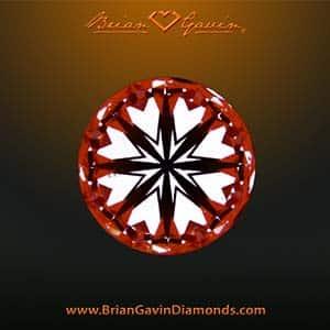 Brian Gavin tapered tiffany e-ring, BGD Signature diamond, AGSL 104081959001