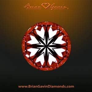 Brian Gavin Tapered Tiffany e-ring, BGD Signature diamond, AGSL 104083953033