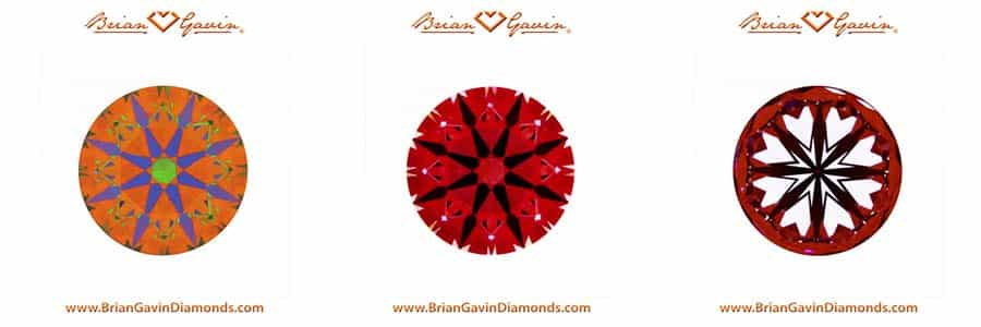Black by Brian Gavin vs James Allen True Hearts diamonds, AGS 104104416019