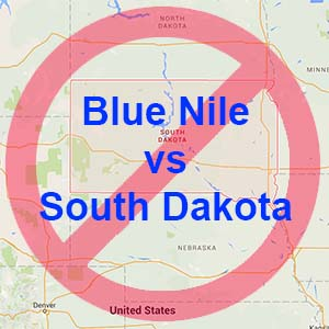 Blue Nile stops shipping to South Dakota