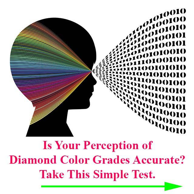 Diamond Color Charts - test your perception of diamond color.