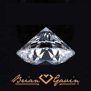 Diamond color grading, Brian Gavin Signature round, AGS 104086279068