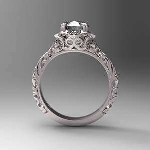 product the ring filigree filligree diamond jewelers engagement antique guild rings