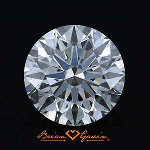 2 carat diamond ring, Brian Gavin reviews, AGSL 104050449012 clarity