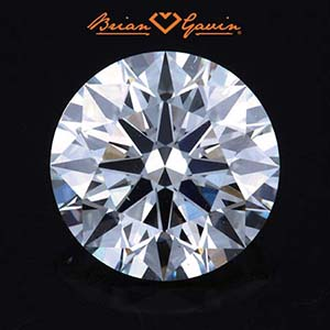 2 carat diamond ring prices, Brian Gavin diamond reviews, AGS 104088433004 clarity