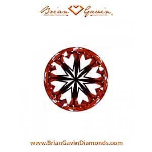 Brian Gavin diamond reviews, AGS 104087405053 hearts arrows