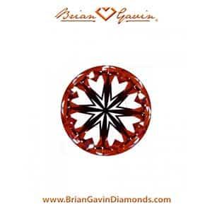 Brian Gavin diamond reviews, AGS 104087405053 hearts arrows
