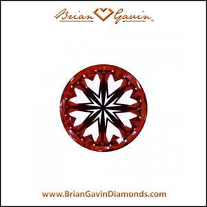 Two carat diamond ring, Brian Gavin reviews, AGSL 104088433004 hearts arrows