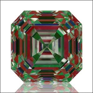 Asscher cut diamond buying guide tutorials, ASET