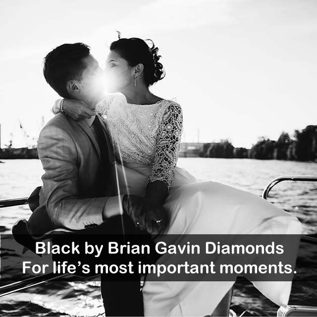 Black by Brian Gavin Diamonds, when you know.