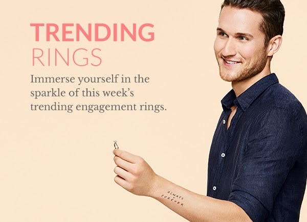 Trending popular engagement rings James Allen