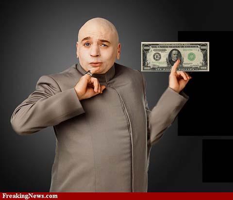 Dr. Evil billion dollars, why diamond cutters cut steep, deep diamonds
