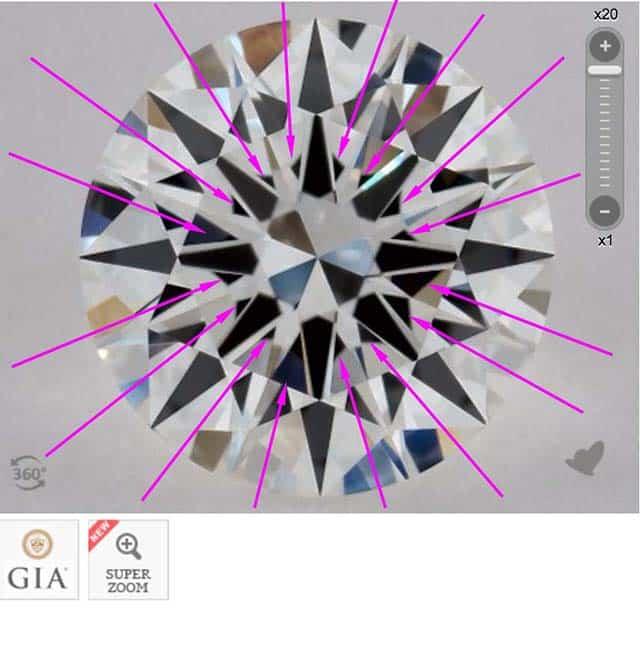 James Allen diamond reviews via Nice Ice, SKU 2269706, GIA 5182003822 heavy obstruction