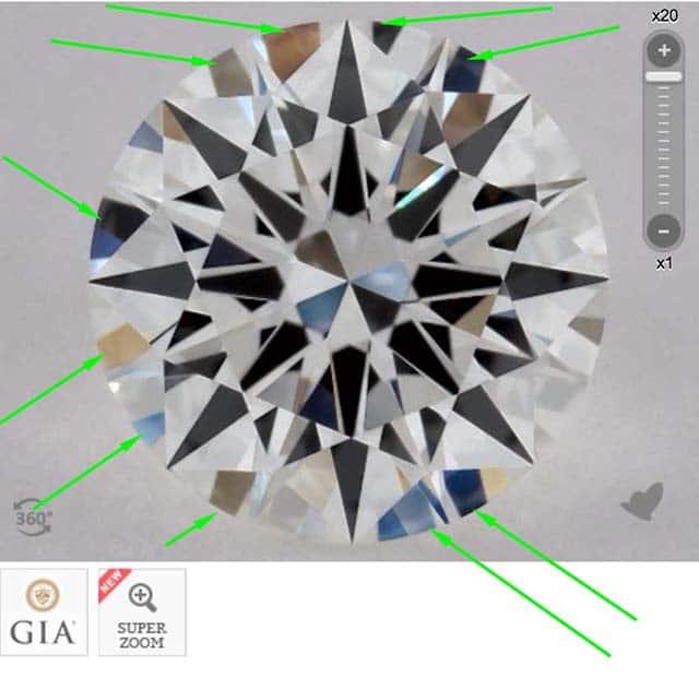 James Allen diamond reviews via Nice Ice, SKU 2269706, GIA 5182003822 no aset scope image required