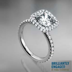 Auden engagement ring reviews Brilliantly Engaged