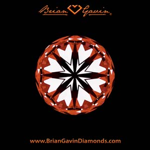 Brian Gavin Hearts & Arrows Diamonds, the ultimate in light performance