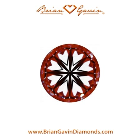 Brian Gavin Hearts and Arrows diamond review, AGS 104093583012