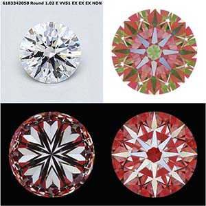 Canadamark Diamonds, James Allen, SKU 2881554, GIA 6183342058